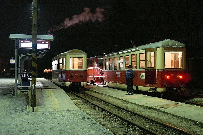 Noční nádraží JHMD.