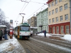 Tramvajka před nádražím