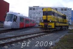 lokomotivy z vlečky Škoda II