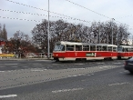 103-prague-tram-on-crossing-strelnicna-15-12-2009