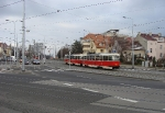 104-prague-trams-on-crossing-strelnicna-15-12-2009