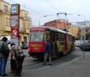 109-prague-trams-on-stop-and-metro-station-kobylisy-15-12-2009