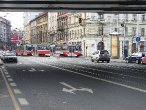 42-tram-on-crossing-tesnov-near-stop-and-metro-station-florenc-26-1-2008