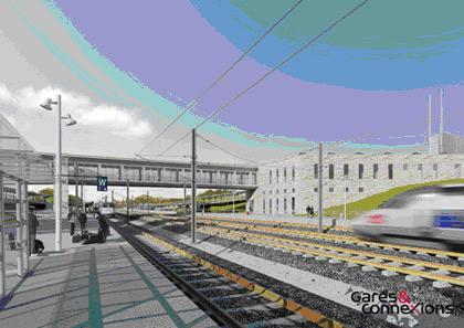Gare de Besaçon TGV
