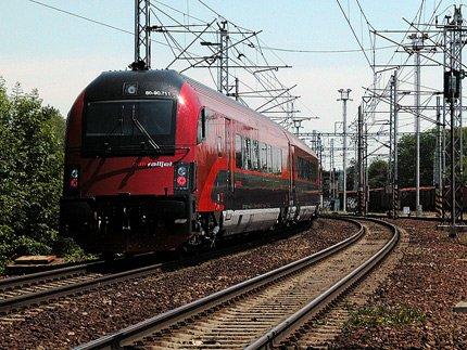 Railjet v Hranicích na Moravě