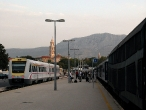 Jadran Express na nádraží ve Splitu