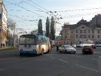 Dopravní nehoda trolejbusu