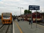 Nové nástupiště v železniční stanici Kroměříž