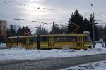 Částečně nízkopodlažní tramvaj K3RN v Plzni