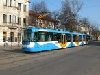 Nová nízkopodlažní tramvaj Vario LF3/2 v Ostravě