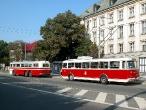 Historické trolejbusy v Ostravě