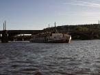 Výletní parník na Vltavě