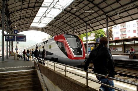 Doppelstock SBB - Bahnhof Olten