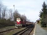Osobní vlak v České Kamenici