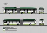 návrh lakování plzeňských trolejbusů Škoda 25tr (c) Škoda Electric