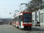 Čtyřkolejná trať elektrické dráhy v Brně