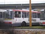 Trolejbus ev.č. 43 ve vozovně