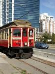 Původní tramvaj z Vancouveru