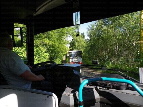 Míjení autobusů