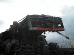 Zbytky trolejbusu 21Tr č. 50