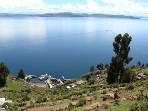 Ostrov Taquile a jezero Titicaca 16. 2. 2011