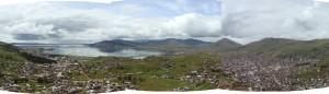 Puno - panorama dne 17. 2. 2011