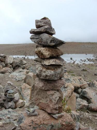 Reserva Nacional Salinas - Aguada Blanca  - Pocta bohům a vulkánům - mužíci 11.2.2011 11:33.