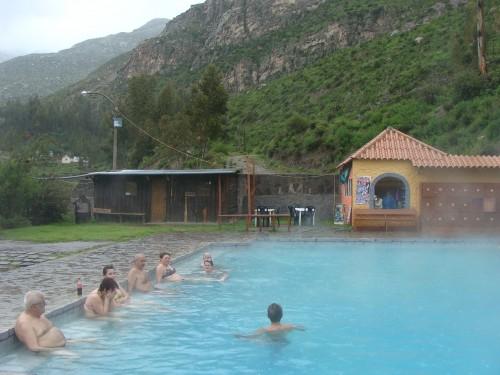 3 km za Chivay - termální bazén 18.2.2011 14:59