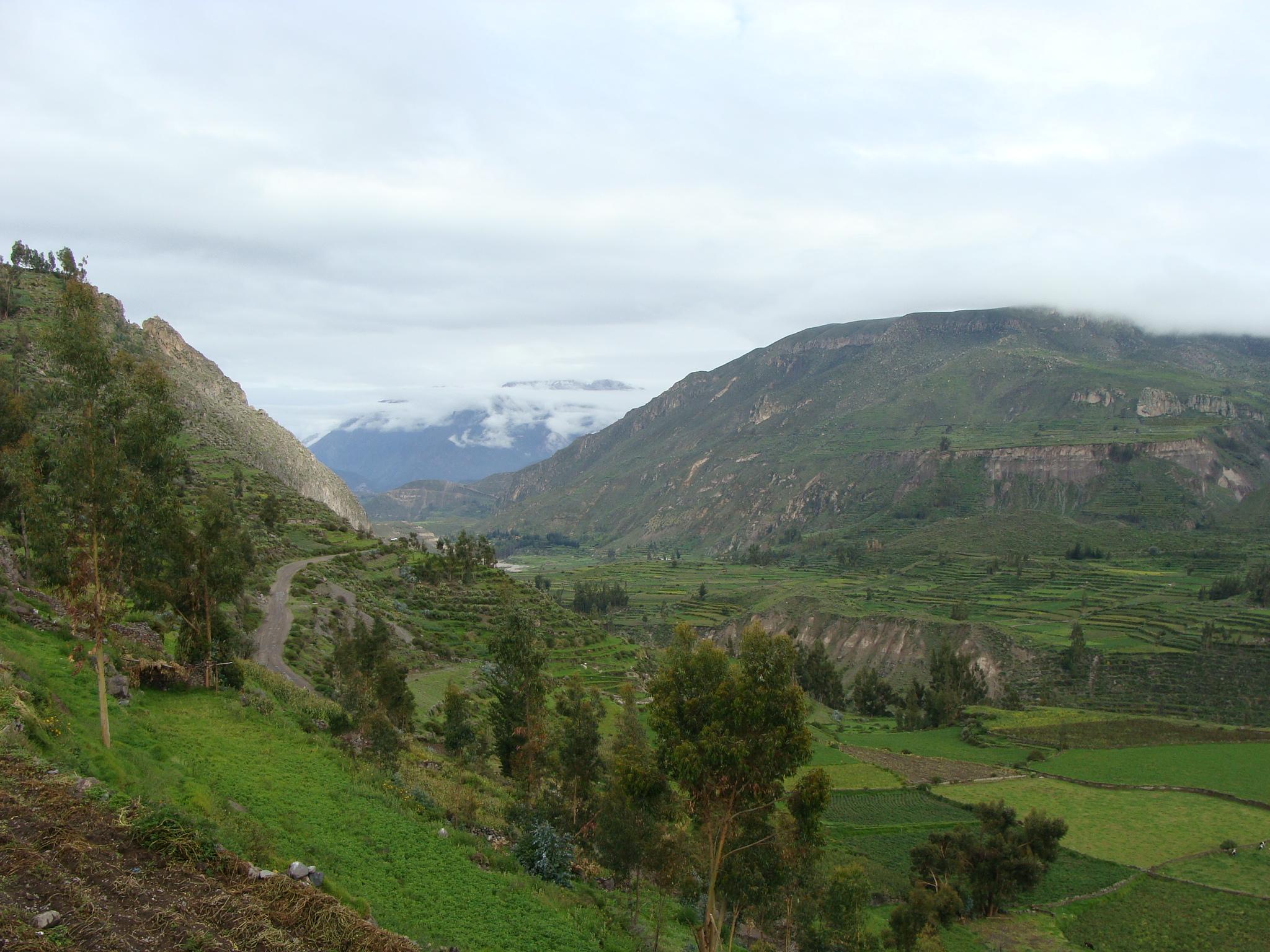 Vesnice Achopa - incké terasy dne 19. 2. 2011 7:40