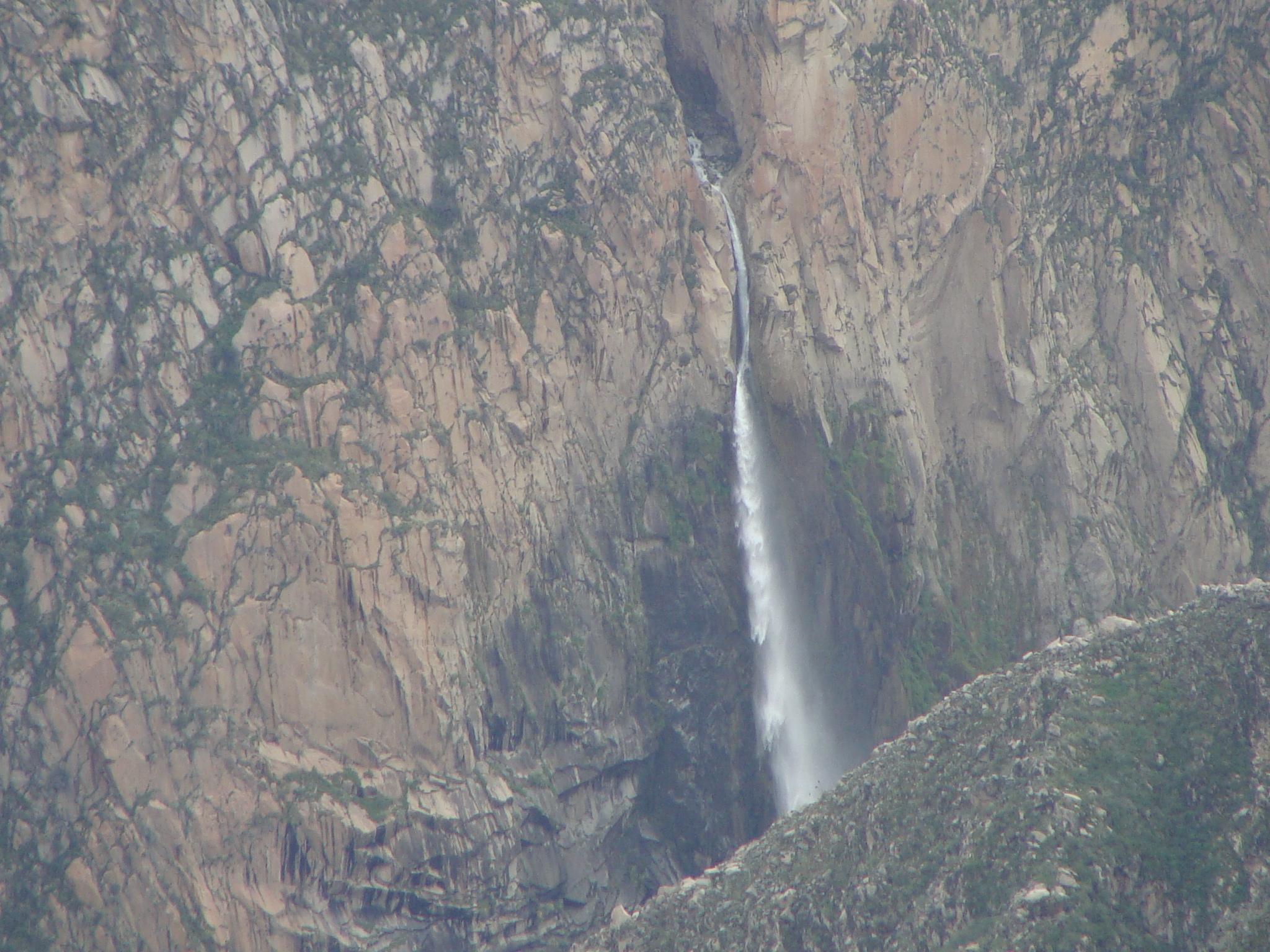 Kaňon Colca - horský vodopád 19. 2. 2011