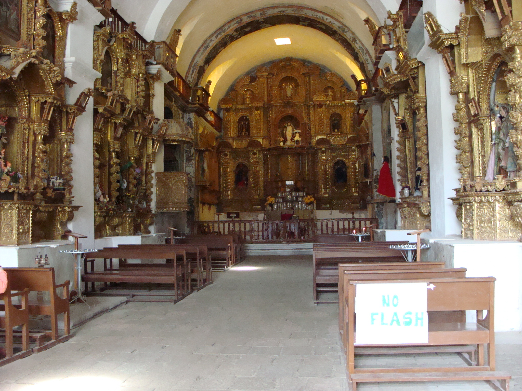Maca - kostel Svaté Anny dne 19. 2. 2011