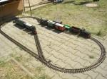 Jedno z modelových funkčních kolejišť