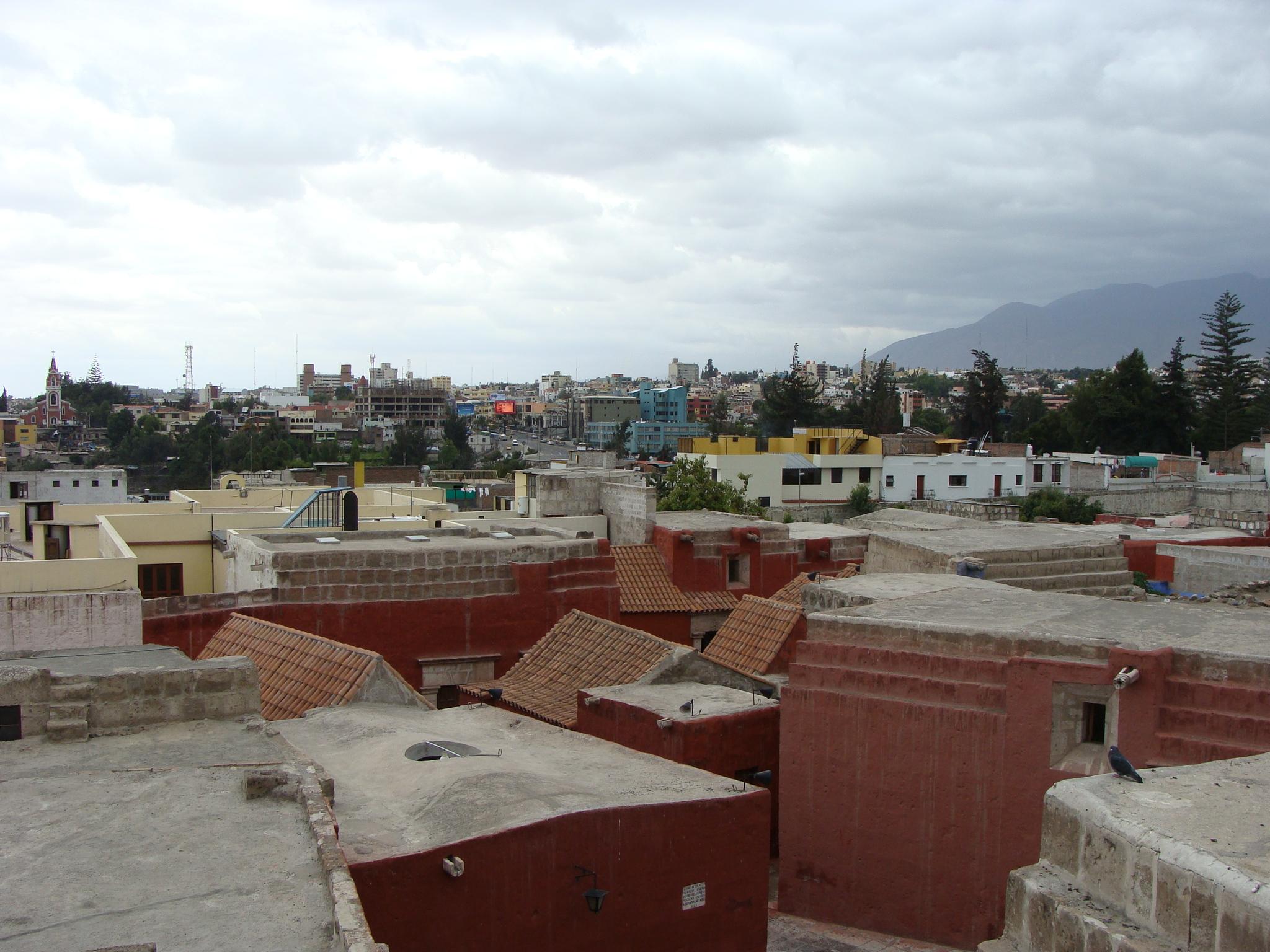 Arequipa  - Santa Catalina - pohled na město 20. 2. 2012 13:09.