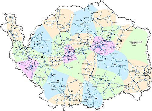Schema IDOK Karlovarského kraje, systému IDS o němž mnozí vůbec netuší, že existuje