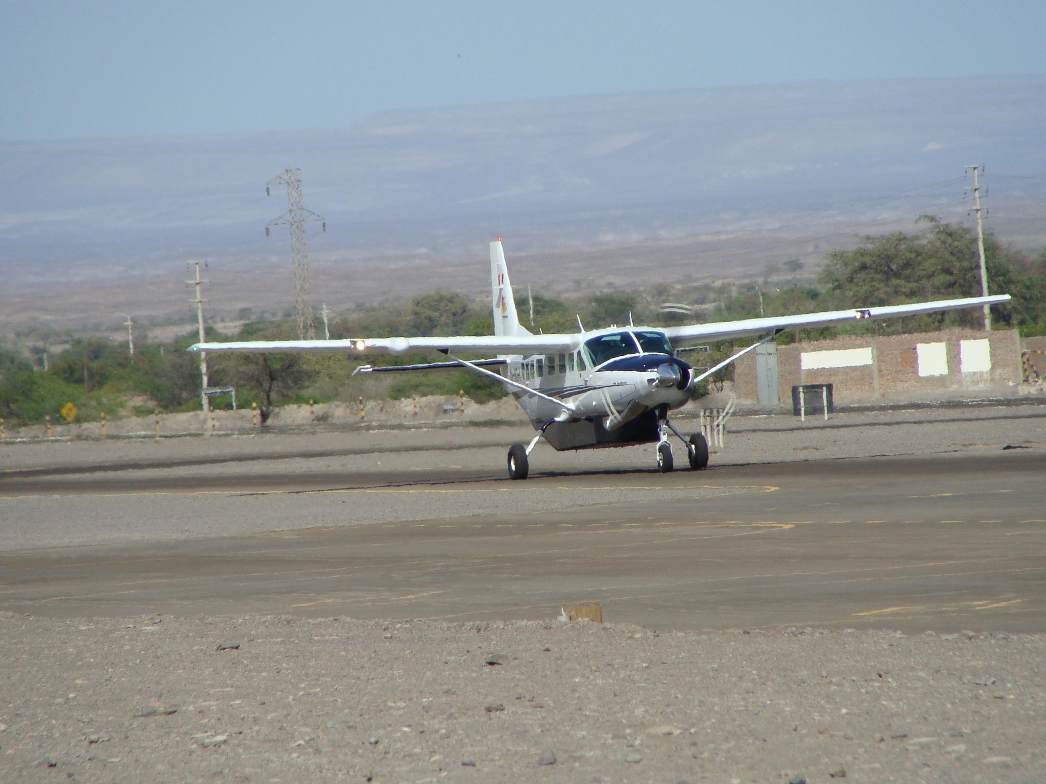 Nazca - letadlo 21. 2. 2011 9:18