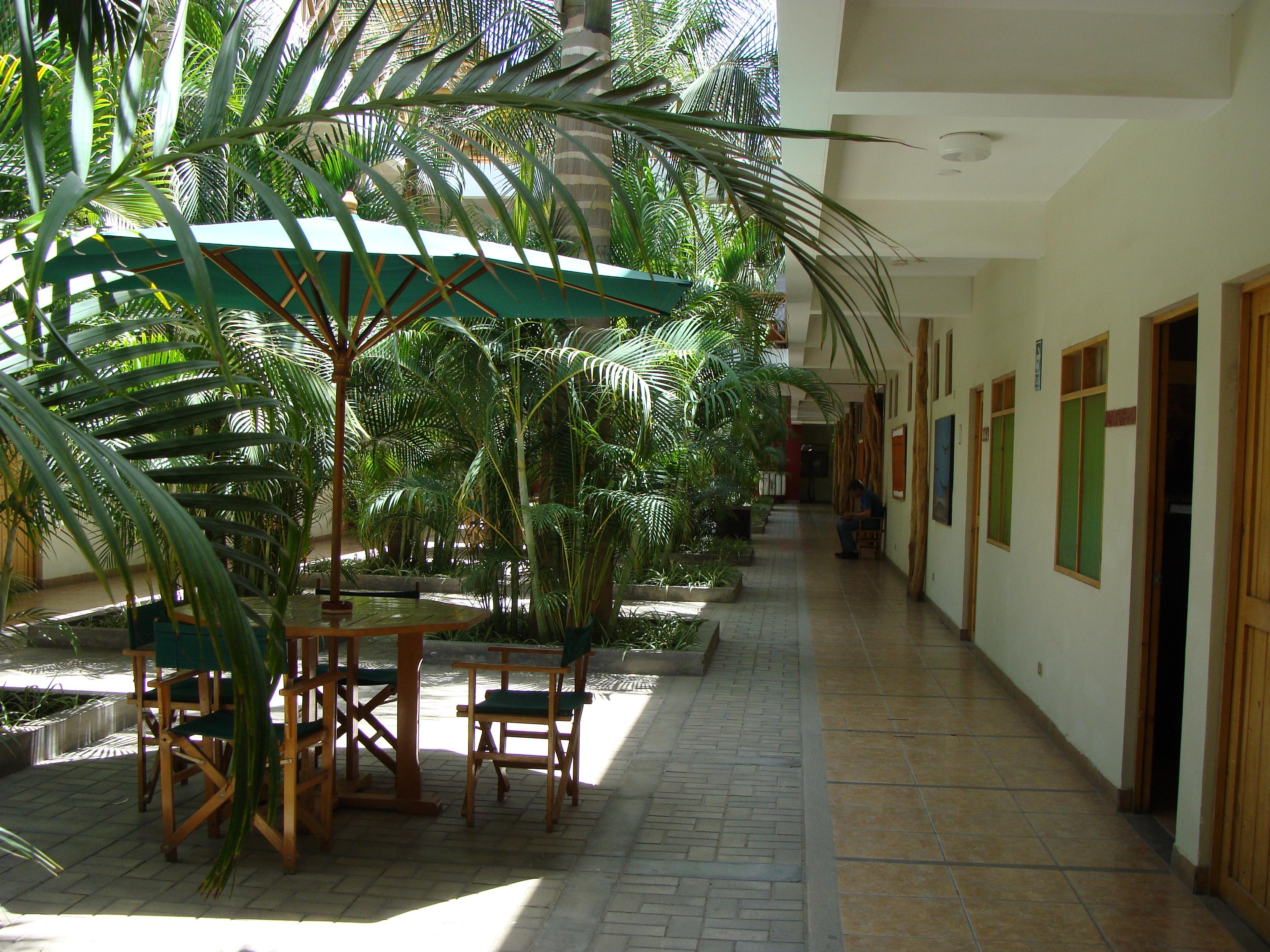 Nazca - hotel Casa Andina - celkový pohled 21. 2. 2011 11:52