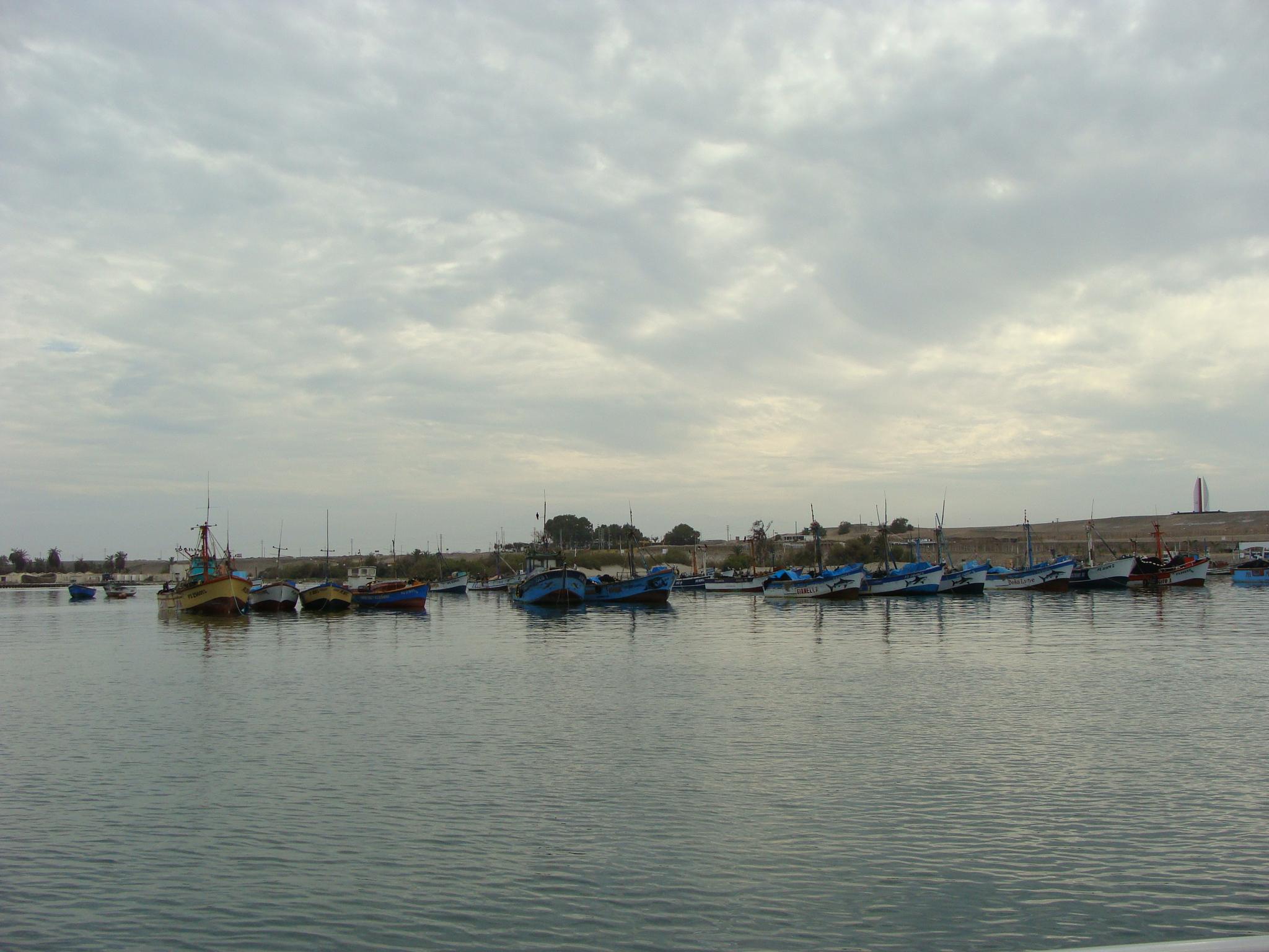 Paracas - přístav 22. 2. 2011 8:07