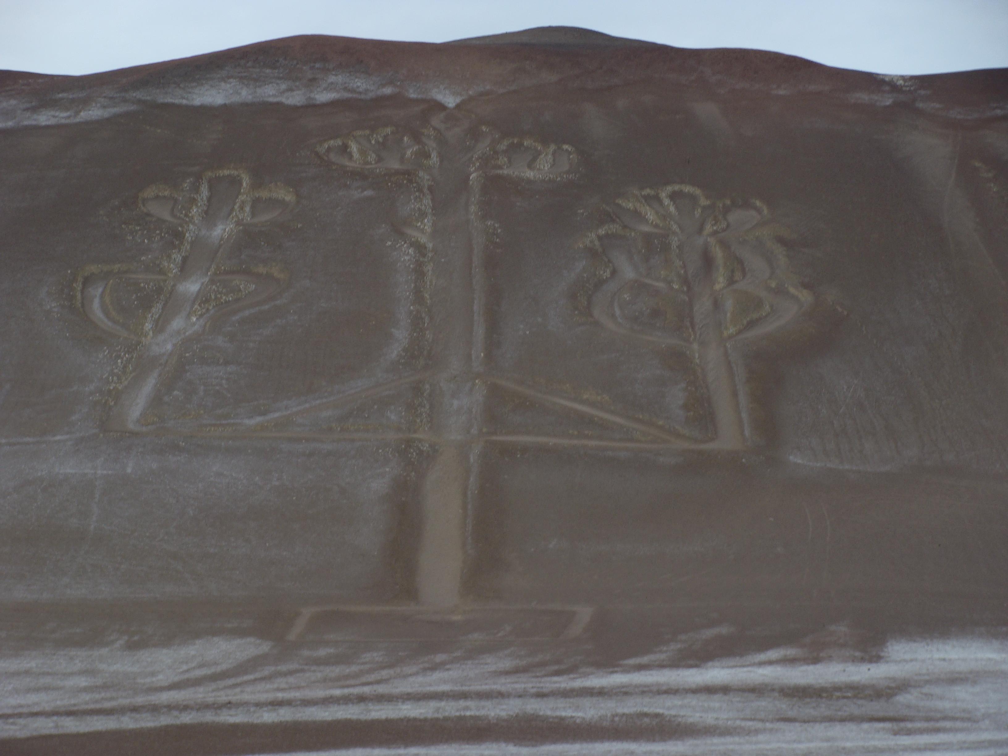 Národní Rezervace Paracas - trojzubec - zblízka 22. 2. 2011 8:25