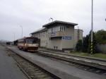 Stanice Chornice ještě za plného provozu 18.10.2010