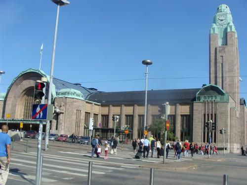 Helsinky - Hlavní nádraží.