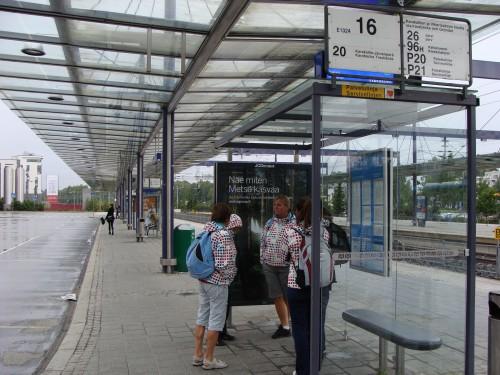U nádraží ve městě Espoo a čtvrti Leppävaara.