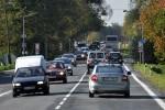 Prázdné auta na silnicích