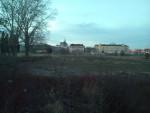 Pohled na Brno z míst, kde by mělo být nádraží v odsunuté poloze